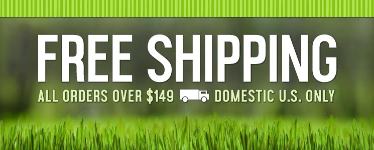 Free Shipping on Domestic orders over $149