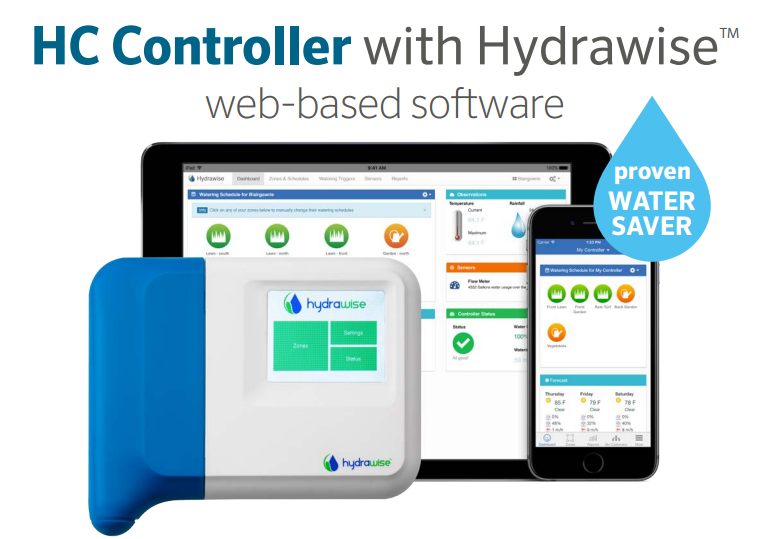 Hunter HC Wireless WiFi Controllers with Hydrawise