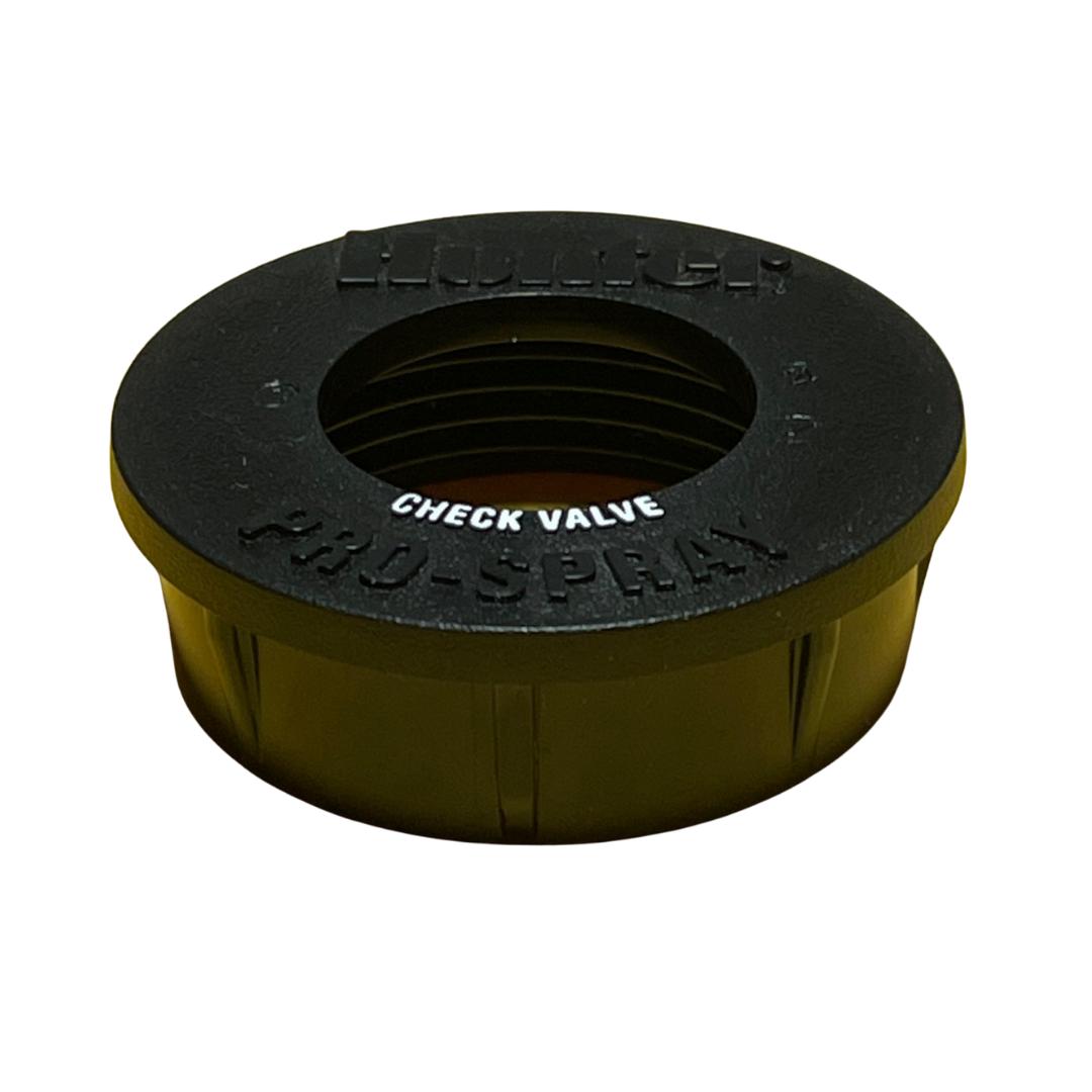 Hunter 458505 PROS-02, 03, 04, 06, 12 Body Cap (With Check Valve ID (Black))