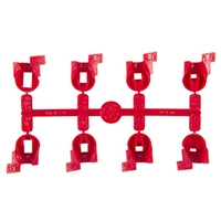 Hunter 538700 PGJ-00 Nozzle Rack (with 8 nozzles)