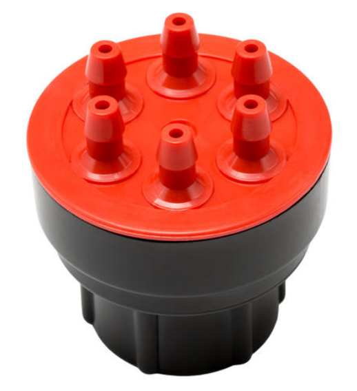 Hunter MPE-20 6 Port Pressure Compensating Multi-Port Emitter  2.0 GPH