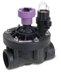 "Rain Bird 200PESB-R 2""(50/60) Plastic Commercial Valve w/Flow Control and Scrubber and Reclaimed Water"