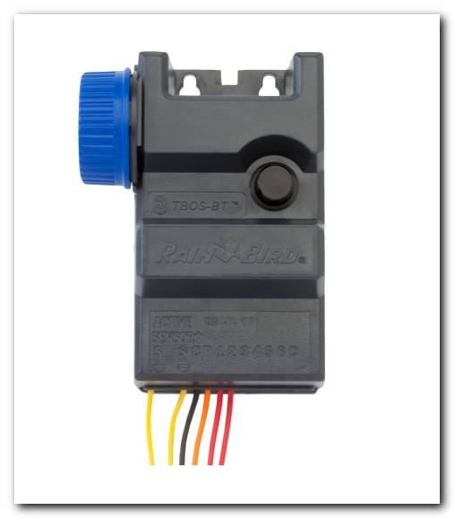 Rain Bird TBOS-BT6 6 Station Bluetooth Battery-Operated Irrigation Controller