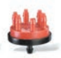 Rain Bird XB-20-6 Multi-Outlet Xeri-Bug Red, 2.0 gph