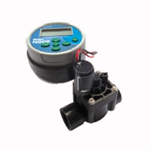 Hunter NODE-100-VALVE Single station controller (DC latching solenoid included--NPT threads) with PGV-101G valve