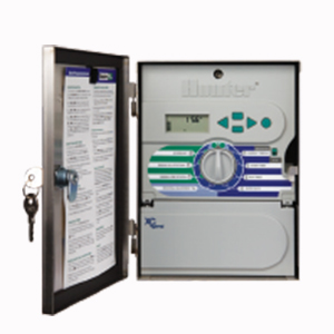 Hunter XCH-600-SS 6-Station outdoor controller, stainless steel cabinet