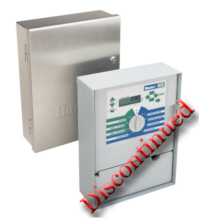 Hunter ICC-800SS 8-Station Outdoor Sprinkler Controller w/Stainless Steel  Cabinet