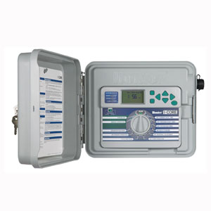 Hunter IC-600 6-Station controller, indoor/outdoor, plastic or metal cabinet