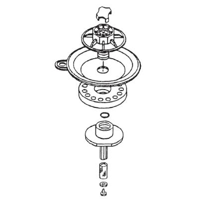 Rain Bird 100PES and 100PESB Replacement Diaphragm Assembly (208144-02)