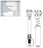 Hunter 302500 SRM-04, PGM-04, PGM-06, PGM-12 Screen/Check Valve Assembly