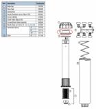 Hunter 326400 SRM-04, PGM-04, PGM-06, PGM-12 Riser seal