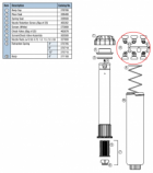 Hunter 327000 SRM-04, PGM-04, PGM-06, PGM-12 Nozzle Rack (w/ 0.50, 0.75, 1.0, 1.5, 2.0, 3.0)