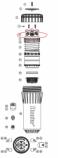 Hunter 346800 I-90 Retainer Cap (5/11 & prior) (ADV, ARV)