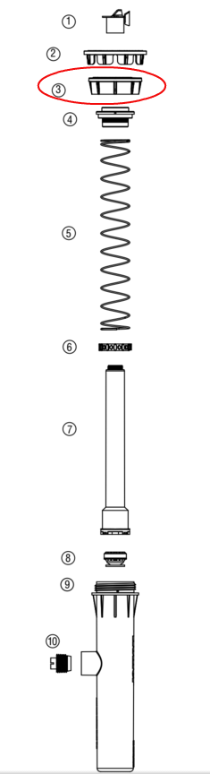 Hunter 458500 PROS-02, 03, 04, 06, 12 Body Cap (Standard Black)
