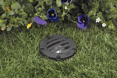 Vista 5270 In-Ground and Well Light 12 Volt Series (50W) - Composite with Grate