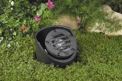 Vista 5281 In-Ground and Well Light 12 Volt Series (50W) - Composite Well Light with Grate