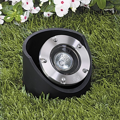 Vista 5286 In-Ground and Well Light 12 Volt Series (50W) - Solid Trim Well Light