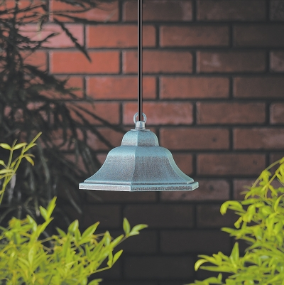 Vista 7213 Specialty Lights 12 Volt Series (10W) - Aluminum Hex Hanging Light