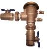 """Febco 765U-100 1"""" Pressure Vacuum Breaker with Union Ball Valves"""