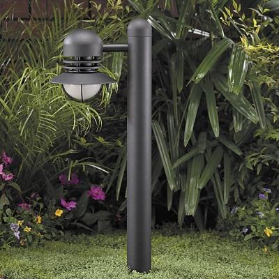 "Vista 8240 Bollard and Beacon Light 12 Volt Series (20W) - Aluminum 25 7/8"" High Beacon Bollard"