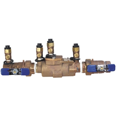"Febco 850U-100 1"" Double Check Valve Assembly with Union Balls (2613)"
