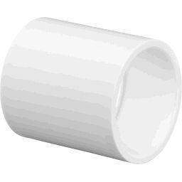 """429-005 - PVC Coupler 1/2"""", (SxS)"""