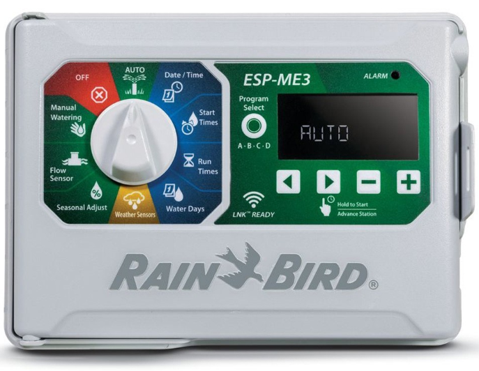 Rain Bird ESP-4ME3 WiFi-Compatible Indoor/Outdoor Sprinkler Controller