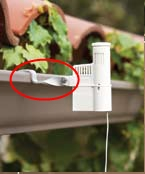Hunter Gutter Mount For Wireless Rain-Clik Rain Sensor