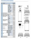 Hunter 341500 I-25-04, I-25-06 Body Cap Assembly (before 12/01/2013)
