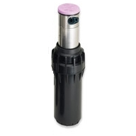 "Hunter I-25-04-SS-R 4"" Popup Full and Part Circle Stainless Steel Riser, Commercial Duty Rotor w/ Reclaimed Water Cap"