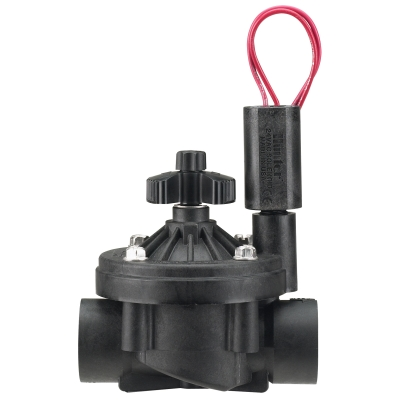"Hunter ICV-101G-FS 1"" Commercial Valve w/Flow Control & Filter Sentry(FxF)"