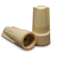 King Innovation Tan Dryconn Connector For #22 (20111) - #6 Low Voltage Wire (Bag of 15)
