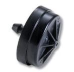 Netafim PC10 1.0 GPH PC Dripper (Black Barb) - Bag of 25