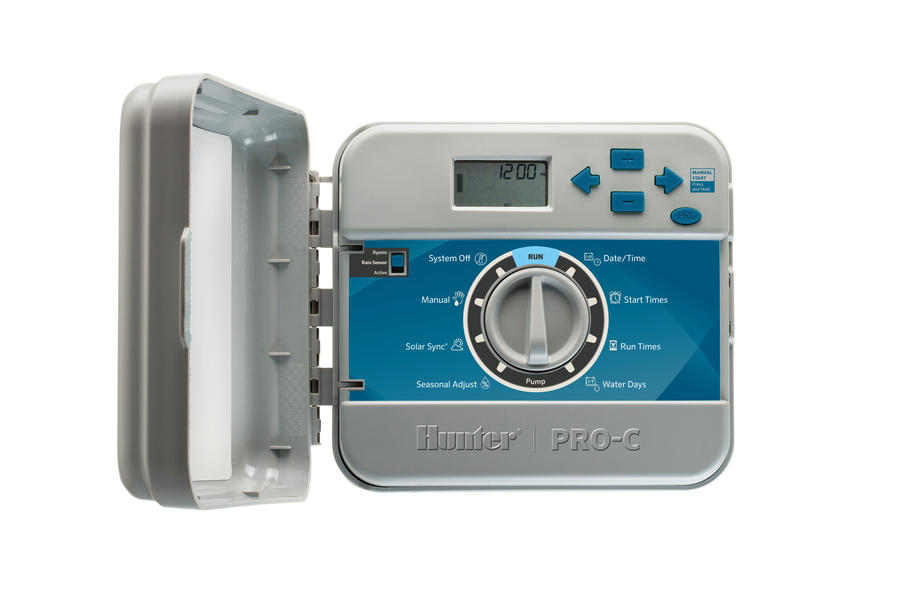 Hunter PCC-1200i 12 Zone Indoor Sprinkler Timer w/ Internal Transformer