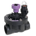 "Rain Bird 100PESB-R 1"" (26/34) Plastic Commercial Valve w/Flow Control and Scrubber and Reclaimed Water"