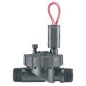 "Hunter PGV-101-JTMM 1"" Plastic Jar Top Globe Valve, with Flow Control, Male x Male (MxM)"
