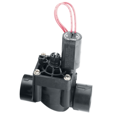 "Hunter PGV-100MB 1"" Globe Valve, no Flow Control, Male Thread x 1"" Barb"