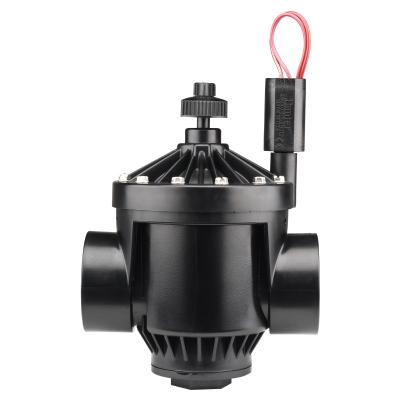 "Hunter PGV-201 2"" Plastic Globe Valve w/Flow Control (FxF)"