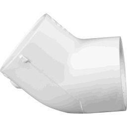 """417-012 - PVC Elbow 1 1/4"""" 45&deg, (SxS)"""