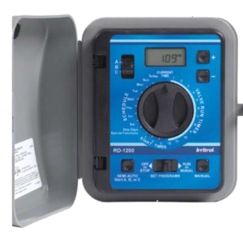 Irritrol RD-600-EXT-R - Rain Dial Series 6 Station Remote Ready Controller (Outdoor)