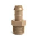 "Netafim TL050MA 1/2"" x Barb Male Adapter - 17mm - Bag of 25"