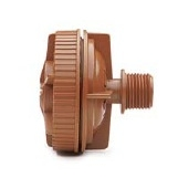 "Netafim TL050MFV-1 Flush Valve by 1/2"" Male Pipe Thread (MPT) Connector"