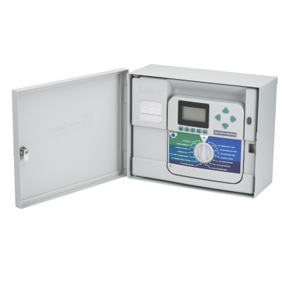Hunter ACC-99D 2-Wire Decoder Controller with 99 Station Capacity - Wall Mount Metal Cabinet