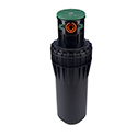 "Hunter ST-90-73 3"" pop-up, jar top cap, adjustable arc, plastic riser, NPT inlet threads, and 2 nozzles"