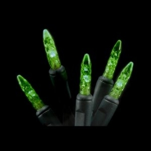 Winterland, Inc. CN-100M5GR-6G - M5 Green LED Mini Lights - 50 Foot Strand