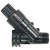 "Netafim PRV075HF45V2K 3/4"" Inline High Flow Pressure Regulator Valve 45 PSI (4.5 to 17.6 GPM)"