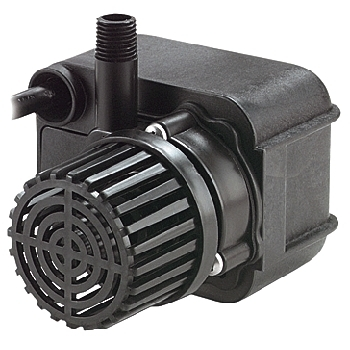 Little Giant PE-2.5F-PW Premium Potted Pond/Fountain Pump - 475 GPH