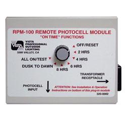 Vista Pro RPM-100 Remote Photocell Module Control Timer