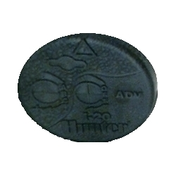 Hunter 352400 I-20 Rotor Black Rubber Cover