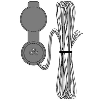 Hunter ROAM-SCWH, Shielded SmartPort wiring harness (length: 25 ft.) (ROAM)
